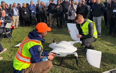 Des drones à Alma